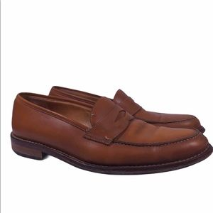 Martin Dingman Old Row Penny Loafers Leather Shoes